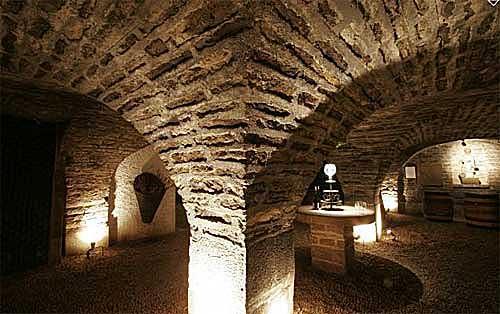 Espaço degustação das caves