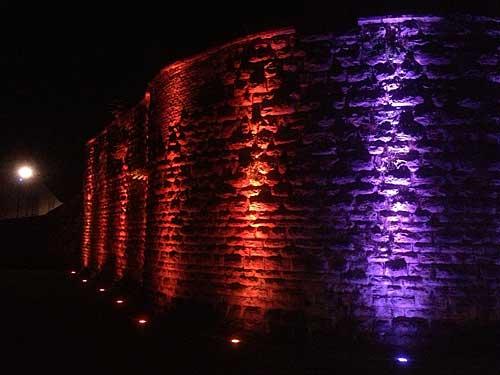 Muralhas iluminadas