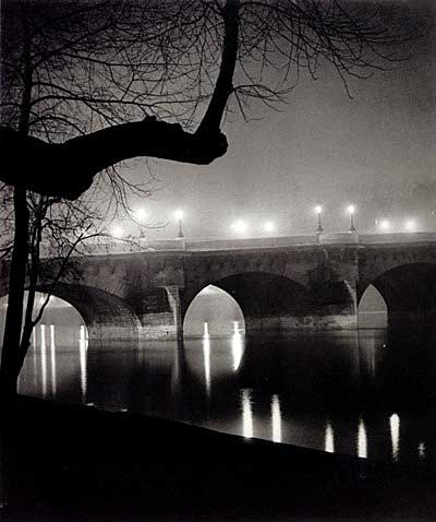 Brassai, as pontes de Paris