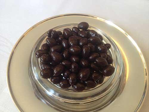 Perles de chocolat à la vodka