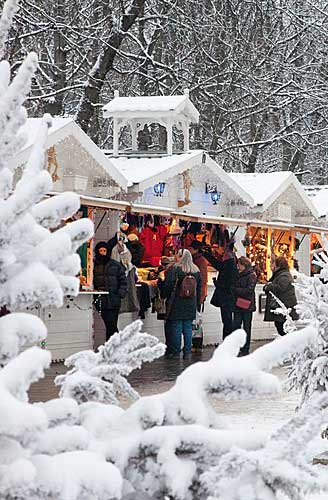 Mercado de Natal da Champs Elysées