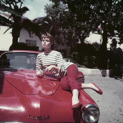 Brigitte Bardot e suas sapatilhas Repetto