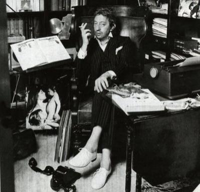 Gainsbourg e as sapatilhas Zizi, da Repetto
