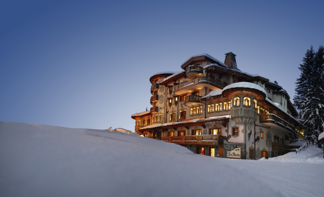 Restaurante do Pierre Gagnaire em Courchevel
