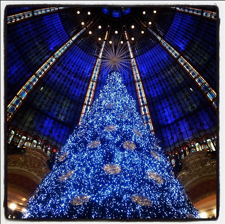 Árvore de Natal da Galerie Lafayette