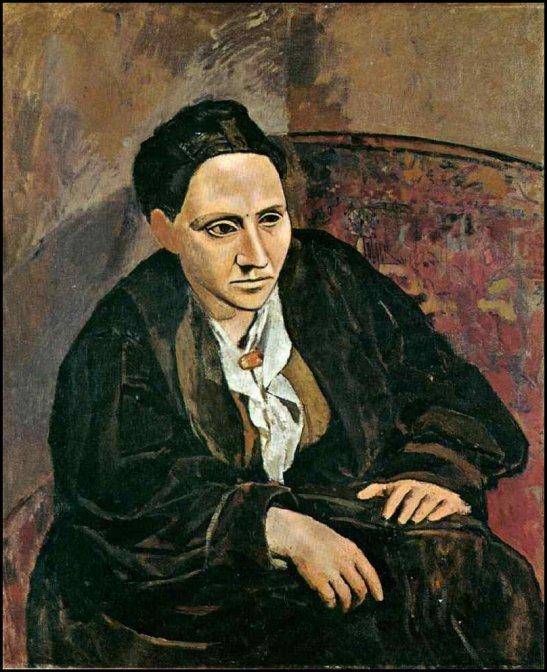 Gertrude Stein por Picasso