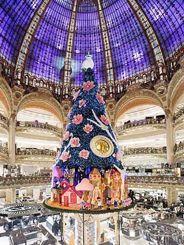 Árvore de Natal das Galerias Lafayette