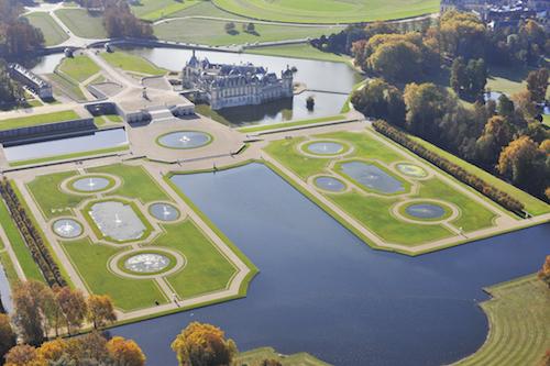 Castelo Chantilly. ©J.L.Aubert