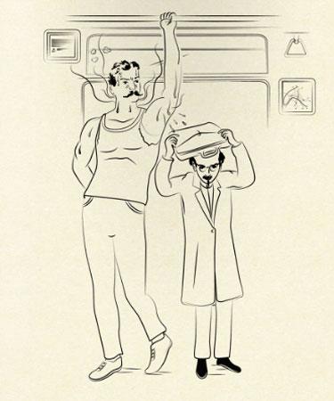 Como se comportar no metrô