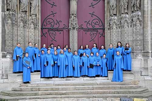 Coro da Catedral Notre Dame