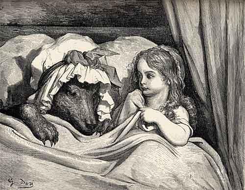Chapelzinho Vermelho, Gustave Doré