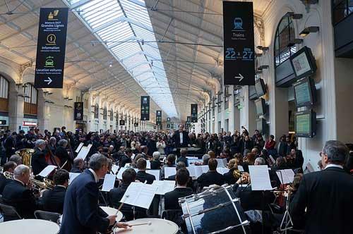 Concertos da Gare Saint Lazare
