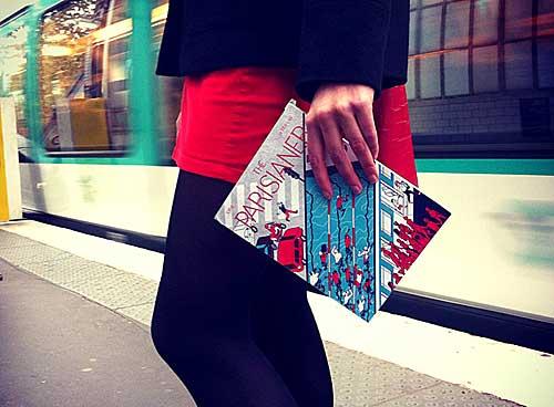 O livro The Parisianer