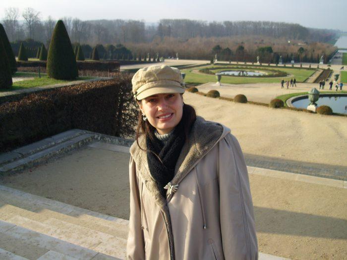 Kariny Schneider em Versailles