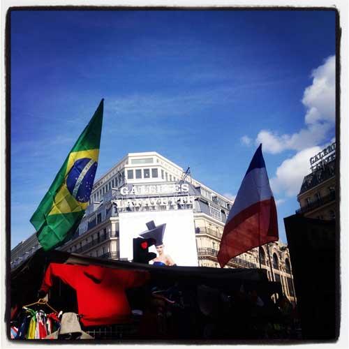 Imagem do Brasil na França