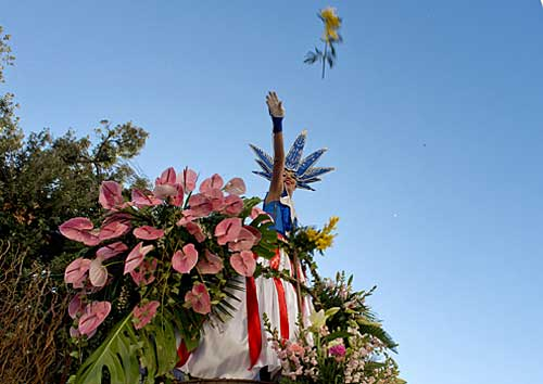 Carnaval de Nice, Bataille des Fleurs