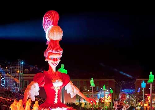 Desfiles no Carnaval de Nice