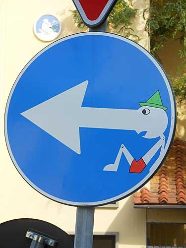 Clet na Itália
