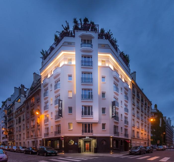 Fachada do Hotel Félicien