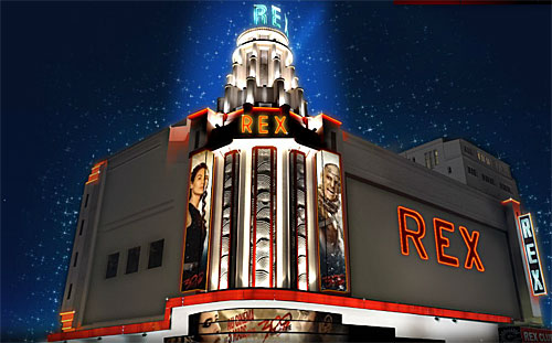 A sala de espetáculos Grand Rex