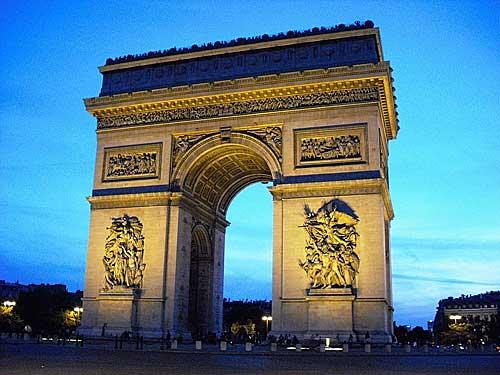 Champs Elysées. Foto:Maurício Azenha