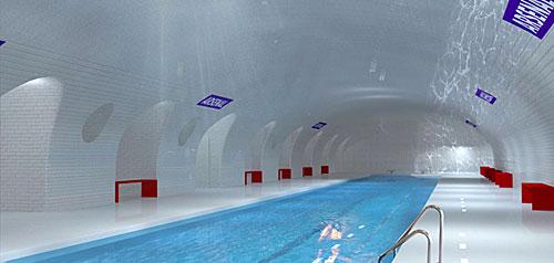 Estação/piscina