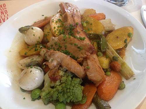 Navarin d'agneau et legumes au beurre