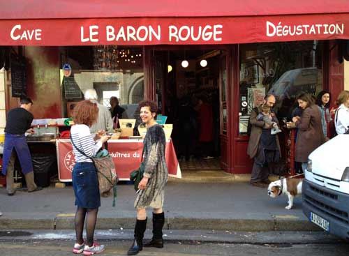 Bar Baron Rouge