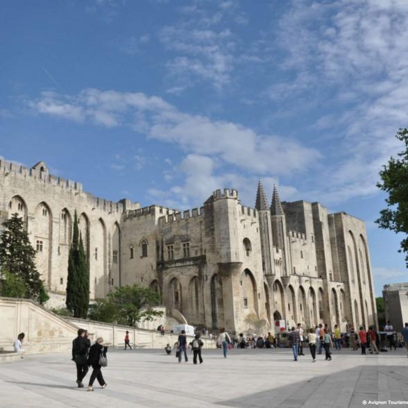 Avignon, as heranças dos papas