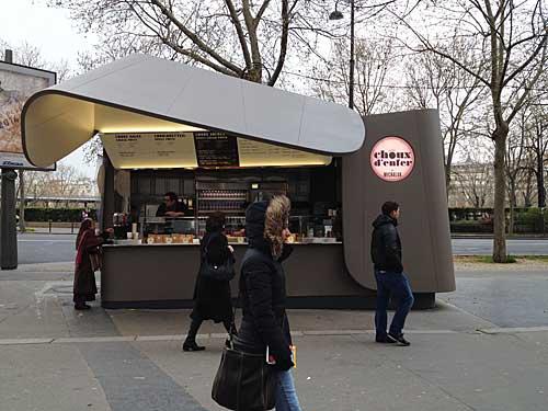 Kiosque choux d'enfer by Michalak