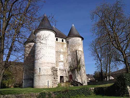 Castelo perto de Giverny