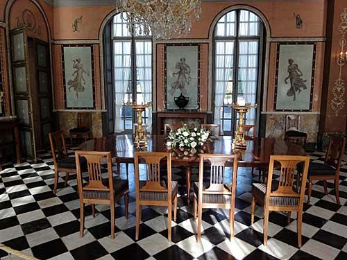 Sala de jantar do Malmaison