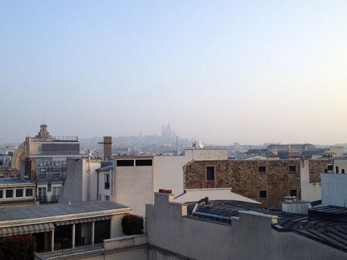 Poluição vista da janela do meu quarto