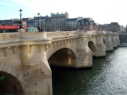 Pont Neuf, a ponte mais bonita de Paris