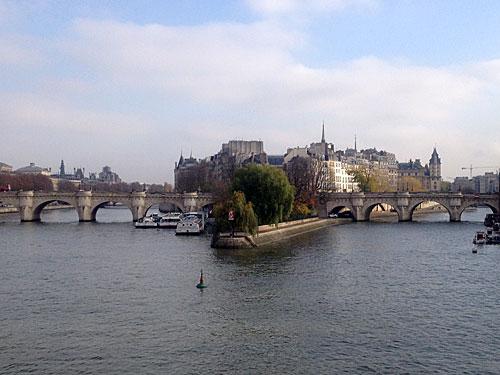 Pont Neuf e seus dois segmentos