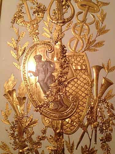 Detalhe decoração Museu Carnavalet