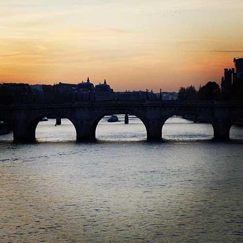 Sena e suas pontes