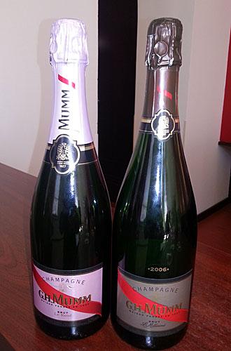 Champagnes degustadas