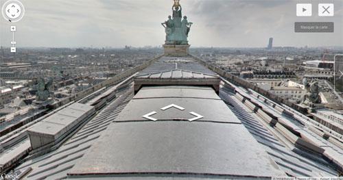 Vista do teto Opera Garnier