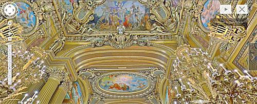 Detalhes decoração Opera Garnier