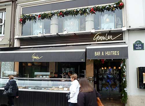 Bar à huitres Garnier