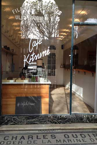 Café Kitsuné de Paris