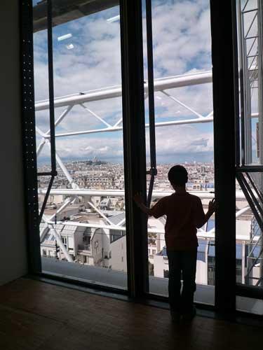 Janelas do Centre Pompidou