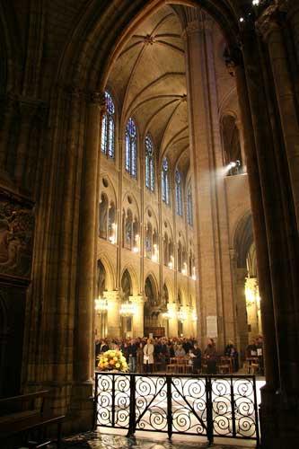 Notre Dame.Foto Jeannie Mitiko Miyazawa