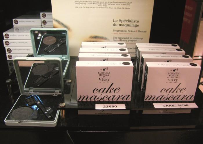 A mítica Cake Máscara, à venda na Galeries Lafayette