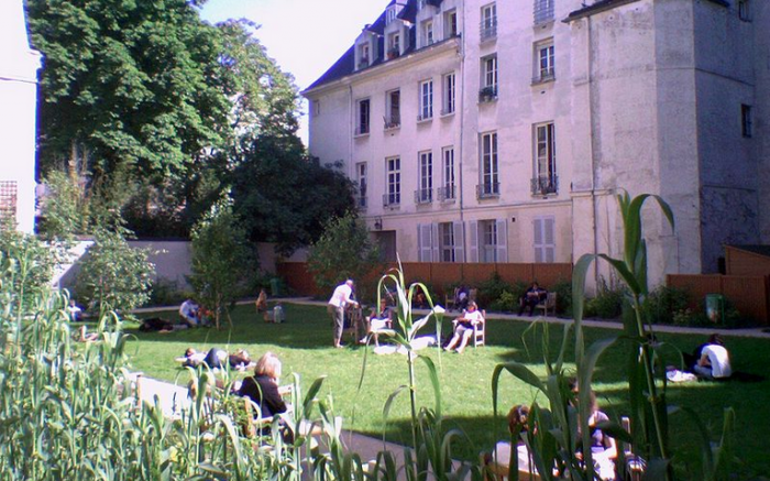 Jardin Francs-Bourgeois-Rosiers