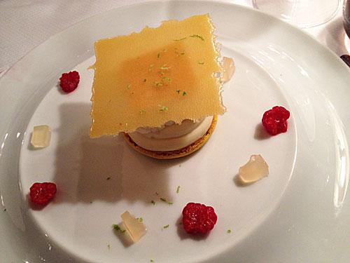 Sobremesa perfumada com o famoso limão da Côte d'Azur
