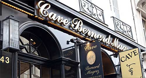 Cave Bernard Magrez em Paris