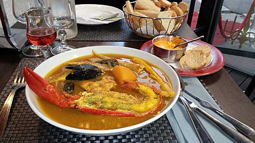 A famosa sopa de peixe de Marseille