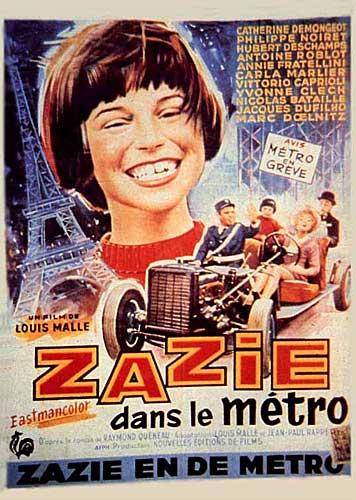 Poster do filme Zazie dans le métro